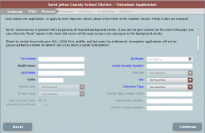 School Access Form